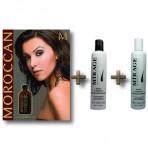 Zestaw 5 (Olejek Arganowy do włosów + Szampon przeciw wypadaniu włosów + Odżywka przeciw wypadaniu włosów)